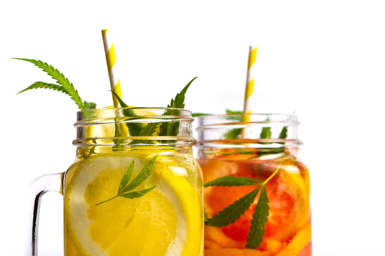 Cannabis fruit drinks